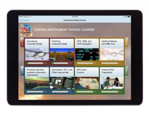 Cessna Instrument Rating course for iPad.