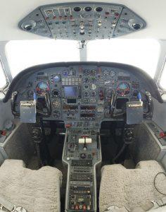 King Schools Dassault Falcon 10 jet