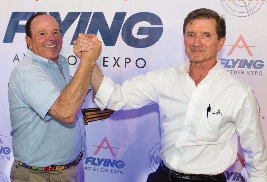 John King (l) Rod Machado (r) true professionals.